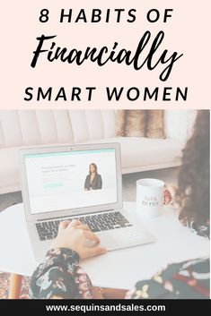8 Habits of Financially Smart Women - Sequins and Sales Apartment Must Haves, Apartment Essentials, Money Saving Tips, Money Tips, Money Budget, Money Hacks, Lexington Law, How To Become, How To Make Money