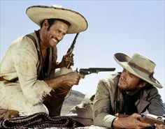 Elie Wallach & Clint Eastwood : The Good, The Bad and the Ugly