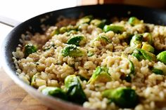 Risotto with Brussels Sprouts and Browned Butter27