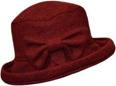 Ladies Bow Hat   Harris Tweed