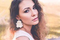 nikuske - Soutache art design by Veronika Ropoviková / SAShE. Diamond Earrings, Drop Earrings, Wedding Earrings, Wedding Bride, Jewelry, Design, Fashion, Diamond Studs, Jewlery