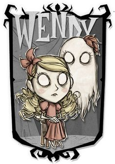 Wendy & Abigail | Don't Starve Together Character Portraits