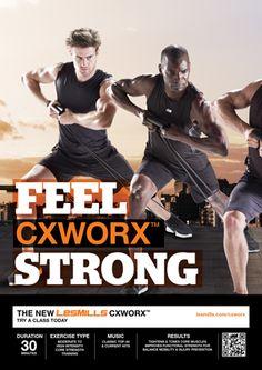 Les mills Q2/12 CXWORX poster