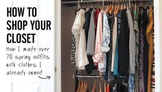 Stylebook: How To Shop Your Closet: The Amazing Spring Outfits You Already Own
