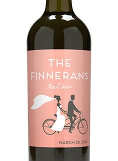 $2 Custom Wine Label for Your Wedding Favor, Inquire for Price for Any Size, Any Qty, Finished Product
