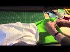 ▶ Come cucire un sacchetto con i laccetti (drawstring bag) - YouTube