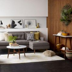 55+ ATTRACTIVE MID CENTURY MODERN LIVING ROOMS DESIGN IDEAS