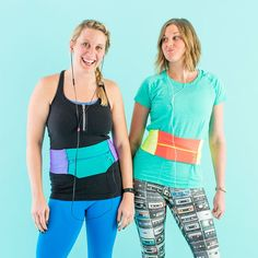 Update your workout apparel with this DIY running band.