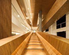 Vanachai office staircase by OPNBX