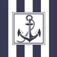 GUARDANAPO ANCHOR BLUE - 2UN - 13307485 - AMBIENTE