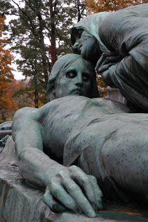 OTIS (Odd Things I've Seen): The New England Grimpendium: Green Mount Cemetery