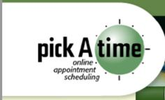 Pick a time - online scheduler for Parent Teacher interviews