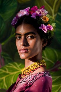 Prabuddha Dasgupta shoots Lakshmi Menon, inspired by Frida Kahlo, for Vogue, India
