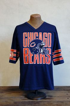 Chicago Bears - Vintage 80s Football T-Shirt