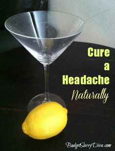 Natural Headache Remedy