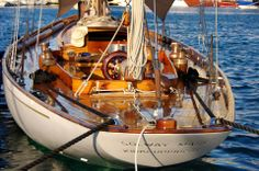 "The Beautiful William Fife Design ""Solway Maid"" Year Built: 1938 The Sailing App"