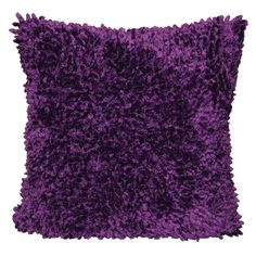 Liven up your home décor with the Winslow Shag Throw Pillow, x Purple. Visit your local At Home store to purchase and find other affordable Throw Pillows.