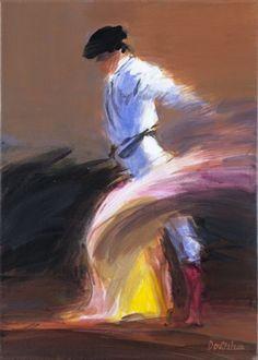 Capote par Pierre Doutreleau Architecture Art Nouveau, Art And Architecture, Bull Painting, Portrait Art, Dancer, Watercolor, Prime Beef, Canvas, Photos