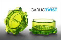 makes mincing garlic sooo easy. I want one!