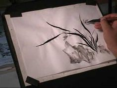 Japanese Brush Painting Utube