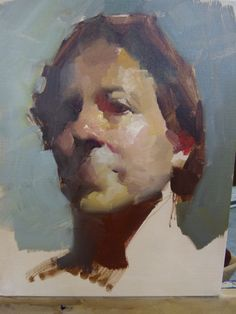 Tami Hort: Zhaoming Wu Paints a Portrait Demo