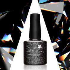 This CND nail polish shade is goth gone glam.