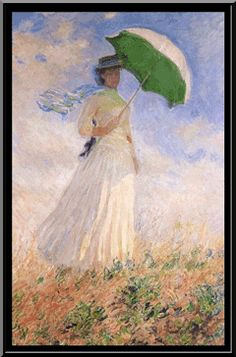 Woman with a Parasol Facing Right Claude Monet art for sale at Toperfect gallery. Buy the Woman with a Parasol Facing Right Claude Monet oil painting in Factory Price. Renoir, Monet Paintings, Landscape Paintings, Abstract Paintings, Claude Monet Pinturas, Monet Garden Giverny, Impressionist Paintings, Famous Artists, Beautiful Paintings