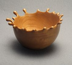 Cherry Wood Splash Bowl 4 by DannyKamerath on Etsy,