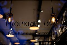 Property Of . . . store in a cafe, Amsterdam store design bar and restaurant