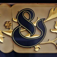 ✍ Sensual Calligraphy Scripts ✍  initials, typography styles and calligraphic art -  ampersand & by Leo Reynolds, via Flickr