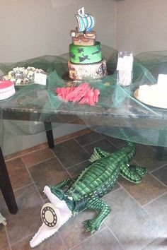 Tick Tock Croc. Peter Pan party.