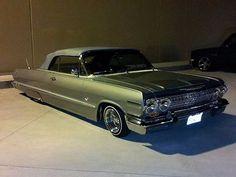 green convert chevy impala