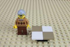 Fabrique une table basse pour tes minifigures LEGO®