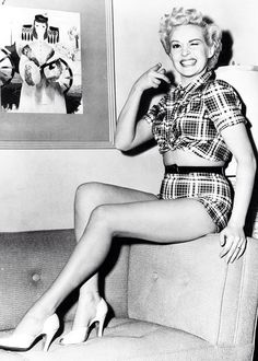 Betty Grable is the cutest! I just loved her. Such spunk
