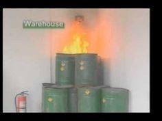 Video bola apaga incendios
