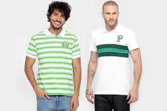 Seleção de camisas polo do Palmeiras com até 60% de desconto no site Mundo Palmeiras. Vale a pena dar uma olhada!