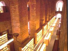Library at Pompeu Fabra University — Barcelona, Spain