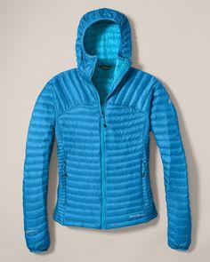 57e6b6c99a Microtherm® Stormdown™ Hooded Jacket | Eddie Bauer Kültéri Eszközök,  Hipszter Divat