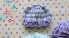 Knitting for charity gives us the warm fuzzies, especially when it's for premature ''preemie'' babies. Louise designed this super simple perfect preemie ba