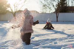 Summer Murdock 365  |  Snow  |  Utah Family Photographer