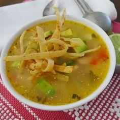Sopa de Lima de Yucatan