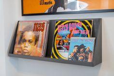 Showcase plankje voor m'n vinyl.
