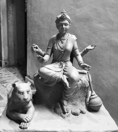 Clay Ganesha, Lord Ganesha, Krishna Statue, Krishna Art, Happy Ganesh Chaturthi Images, Clay Wall Art, Indian Art Paintings, Figure Drawing Reference, Durga Goddess