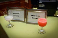 Bar & Bat Mitzvah Name Theme Drinks / Mocktails {A Magic Moment} - mazelmoments.com