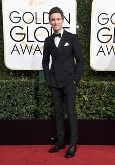 Eddie Redmayne | 25 Guys Who Looked Fine As Hell At The Golden Globes