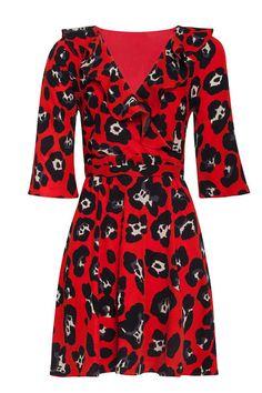 Krásné šaty, které podtrhnou vaši ženskost. Vezměte je na večírek či párty, ale i ve městě či v kanceláři vám budou slušet. Červený podklad s černými květy, překřížený výstřih, zavazování na pásek, elegantní tříčtvrteční rukáv, sukně mírně rozšířená. Splývavý materiál s jemnou podšívkou (100% polyester). Doplňte kabelkou a botami z naší nabídky a výsledek bude skvělý. 61 Kg, Dresses With Sleeves, Female, Long Sleeve, Products, Fashion, Moda, Sleeve Dresses, Long Dress Patterns