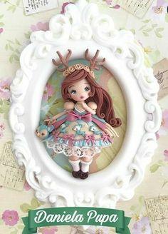 Polymer Clay, Decorative Plates, Sculpture, Handmade Dolls, Home Decor, Challenge, Instagram, Resin Jewellery, Amigurumi Doll