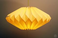 Lampenschirme - Origami lamp: Lydia vanilla - ein Designerstück von DanielleOrigamiLampen bei DaWanda