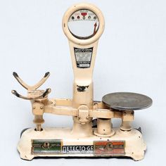 Vintage Jacobs Bros Co Detecto Gram Metal Agriculture Scale Collectable Antique | eBay