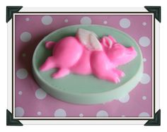 SOAP  When Pigs Fly Soap  Art Soap  by SCENTSOFHUMORCANDLES, $5.99